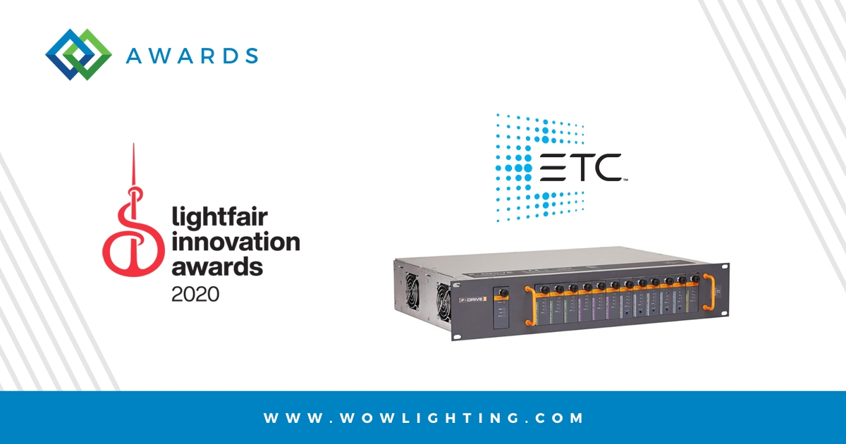 ETC WINS LIGHTFAIR INNOVATION AWARD