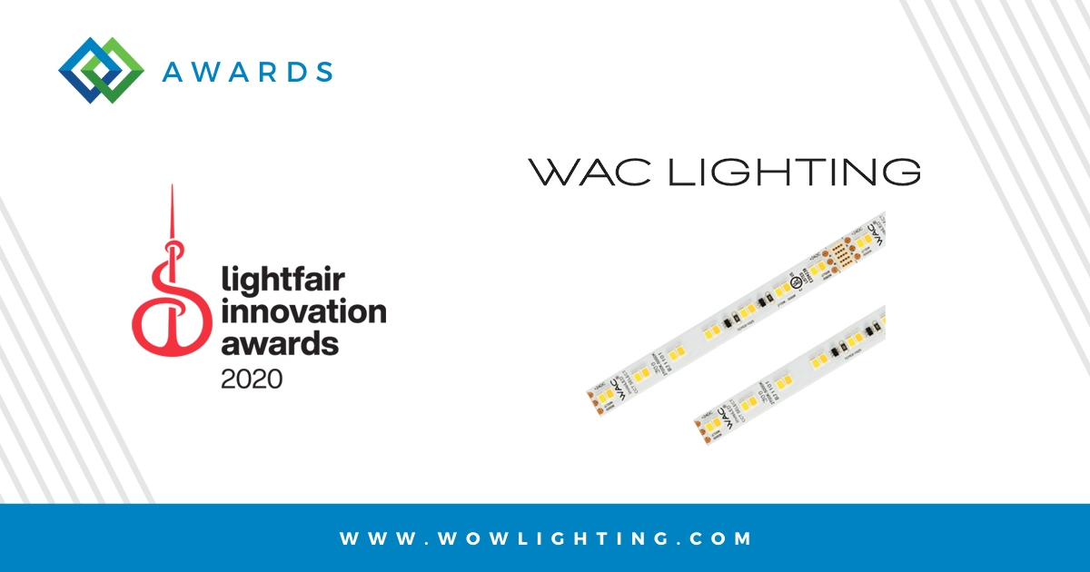 WAC LIGHTING WINS LIGHTFAIR INNOVATION AWARD
