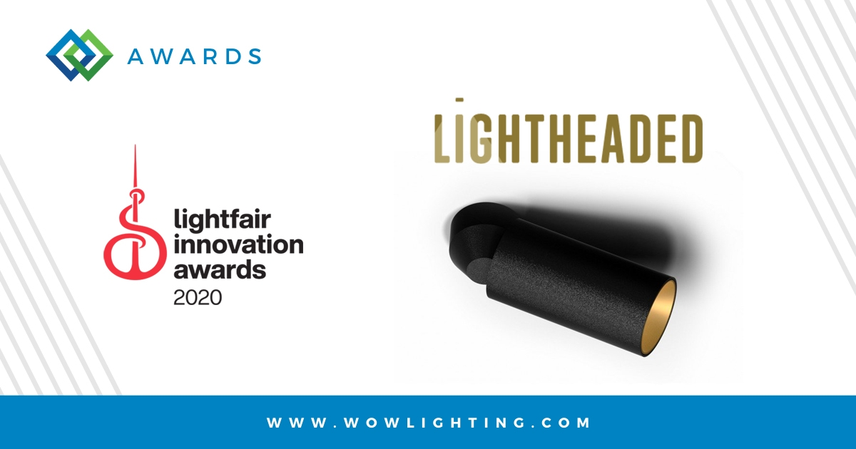 LIGHTHEADED WINS LIGHTFAIR INNOVATION AWARD