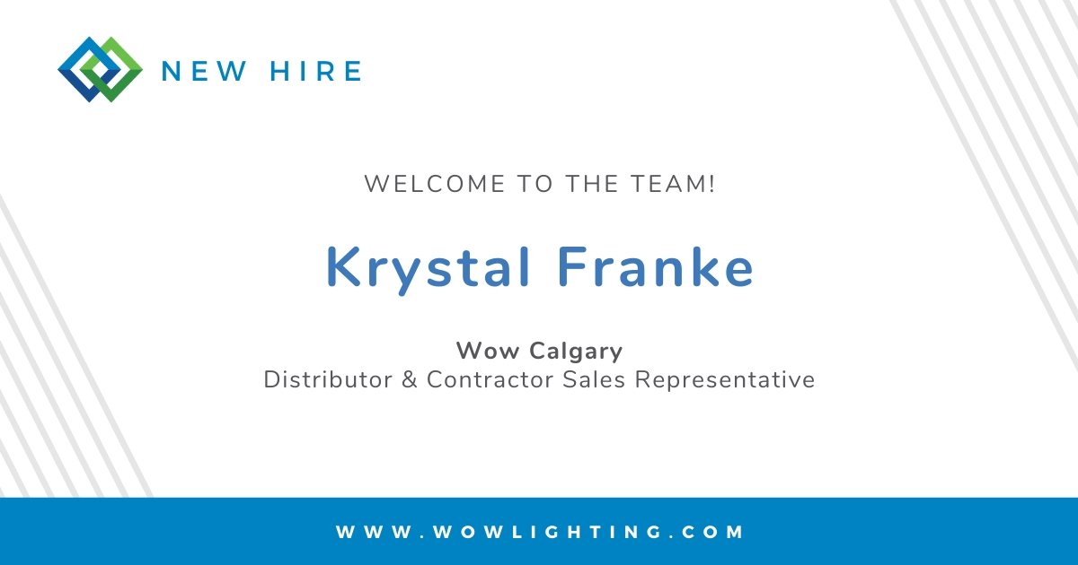 WELCOME TO THE TEAM: KRYSTAL FRANKE